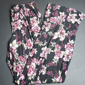 *Just Be Floral Pants - Medium